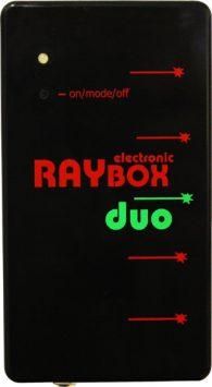 Laser rosso e verde a 5 raggi