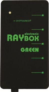 Laser verde a 5 raggi