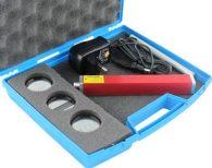 Valigetta per diffrazione e interferenza con laser rosso