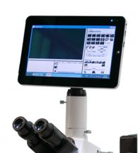 "Tablet 9.7"" per microscopia con camera da 5 Mpx"