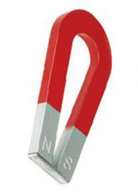 Magnete ferro di cavallo (sezione 1 x 7,5h cm)