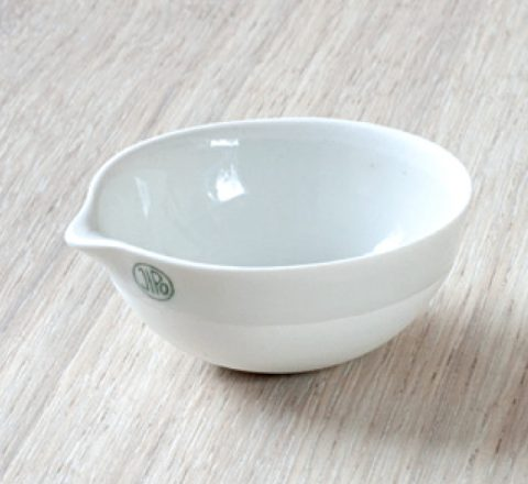 Capsula di evaporazione porcellana media d. 80x32 mm