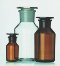 Flacone bocca stretta vetro bianco 500 ml