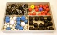 Kit modelli molecolari di biochimica per studenti