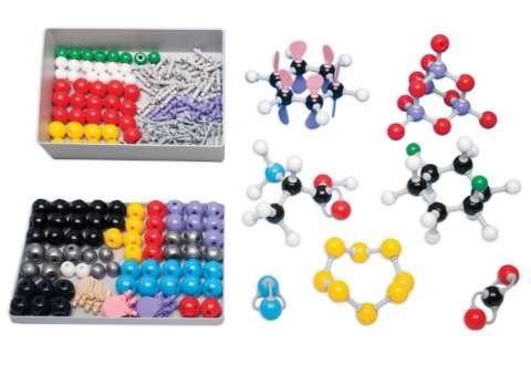 Modelli molecolari chimica organica e inorganica per insegnante