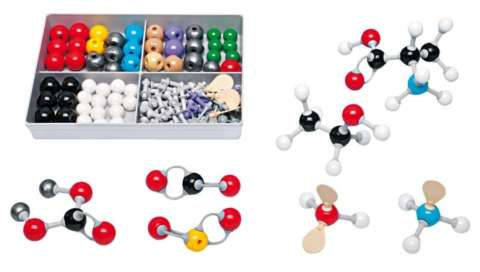 Modelli molecolari chimica organica ed inorganica per studenti