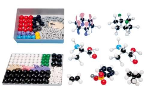 Modelli molecolari di chimica organica per insegnante
