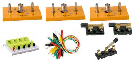 valigetta circuiti elementari